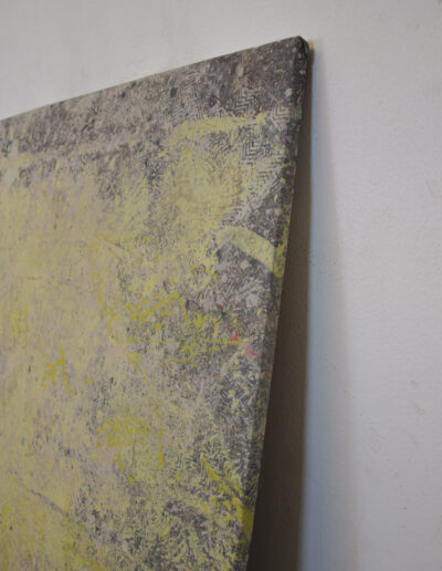 Dettaglio quadro arte contemporanea