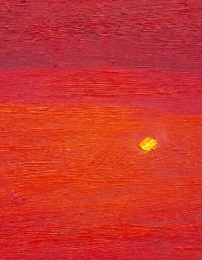 quadro che rappresenta il sole al tramonto