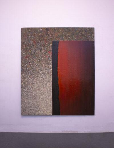 opera d'arte contemporanea in galleria di Milano
