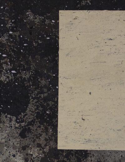 opera contemporanea, tecnica mista su tela
