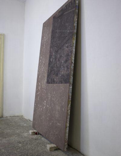 Opera d'arte in studio d'artista