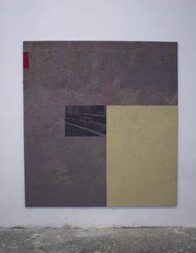 Opera di Norberto Spina su tematiche sociali