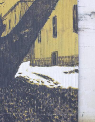 Murales di Norberto Spina a Piacenza