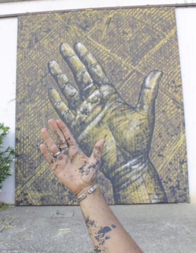 Murales norberto spina a piacenza
