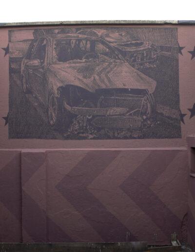 norberto spina opera d'arte murale