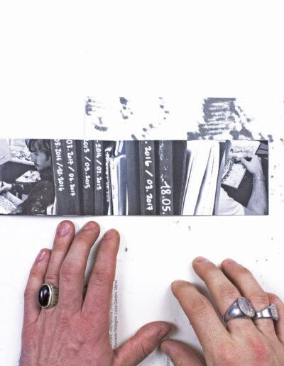 pubblicazione artistica di norberto spina