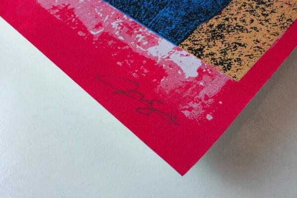 stampa d'arte firmata da norberto spina